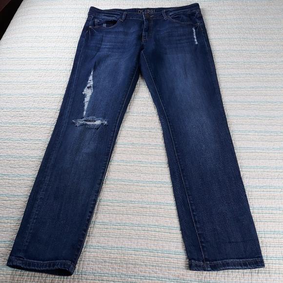 DL1961 Denim - DL1961 Riley Boyfriend 29 Distressed Savage Jeans